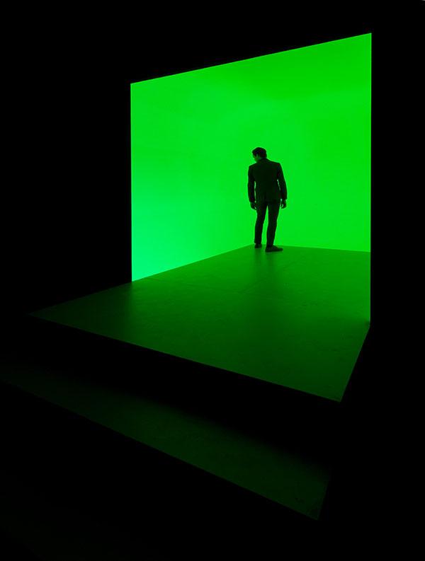 Matthijs Munnik: Luminal (2016). Lichtinstallatie. Foto: G.J. van Rooij