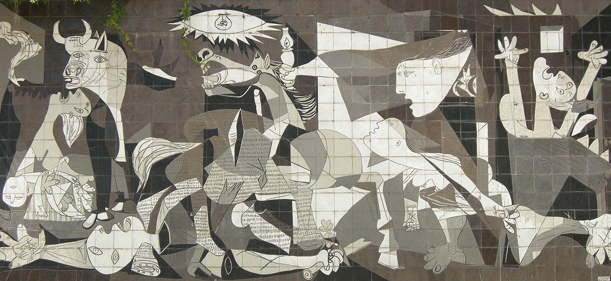 )Lara Broekman-Guernica 2, Guernica_uitgesneden