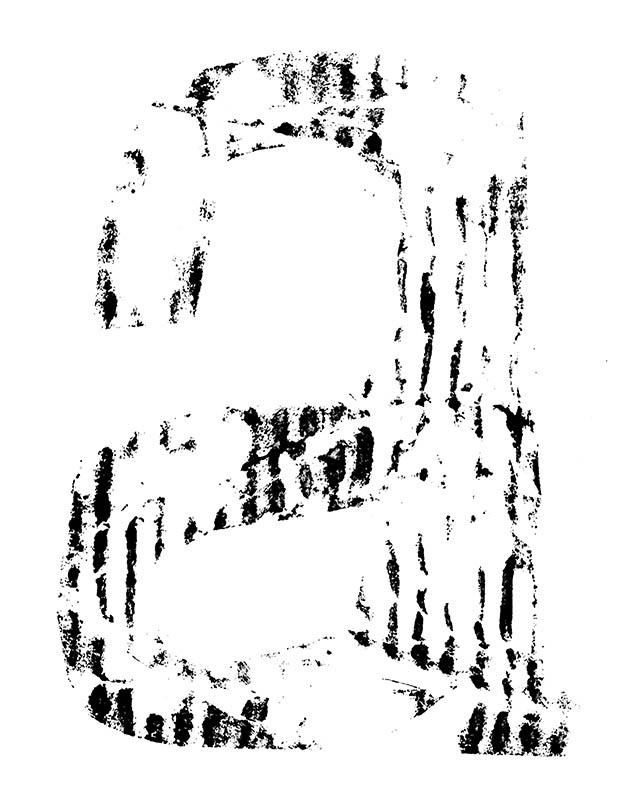 Sabien Imming-typografische Ode aan de Ziel-A no.3