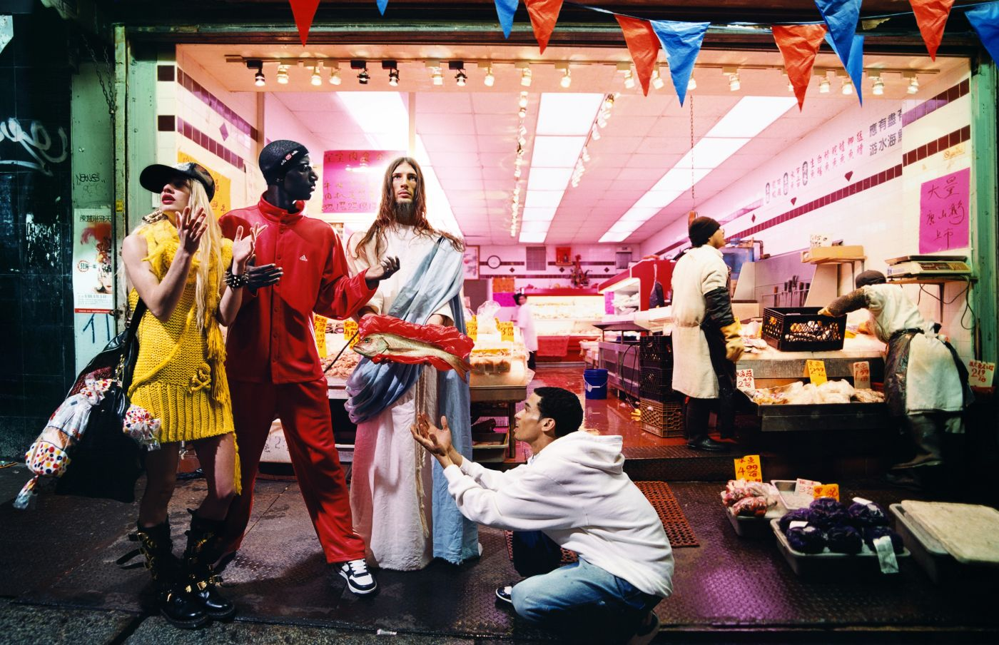 Foto: David LaChapelle Loaves and fishes