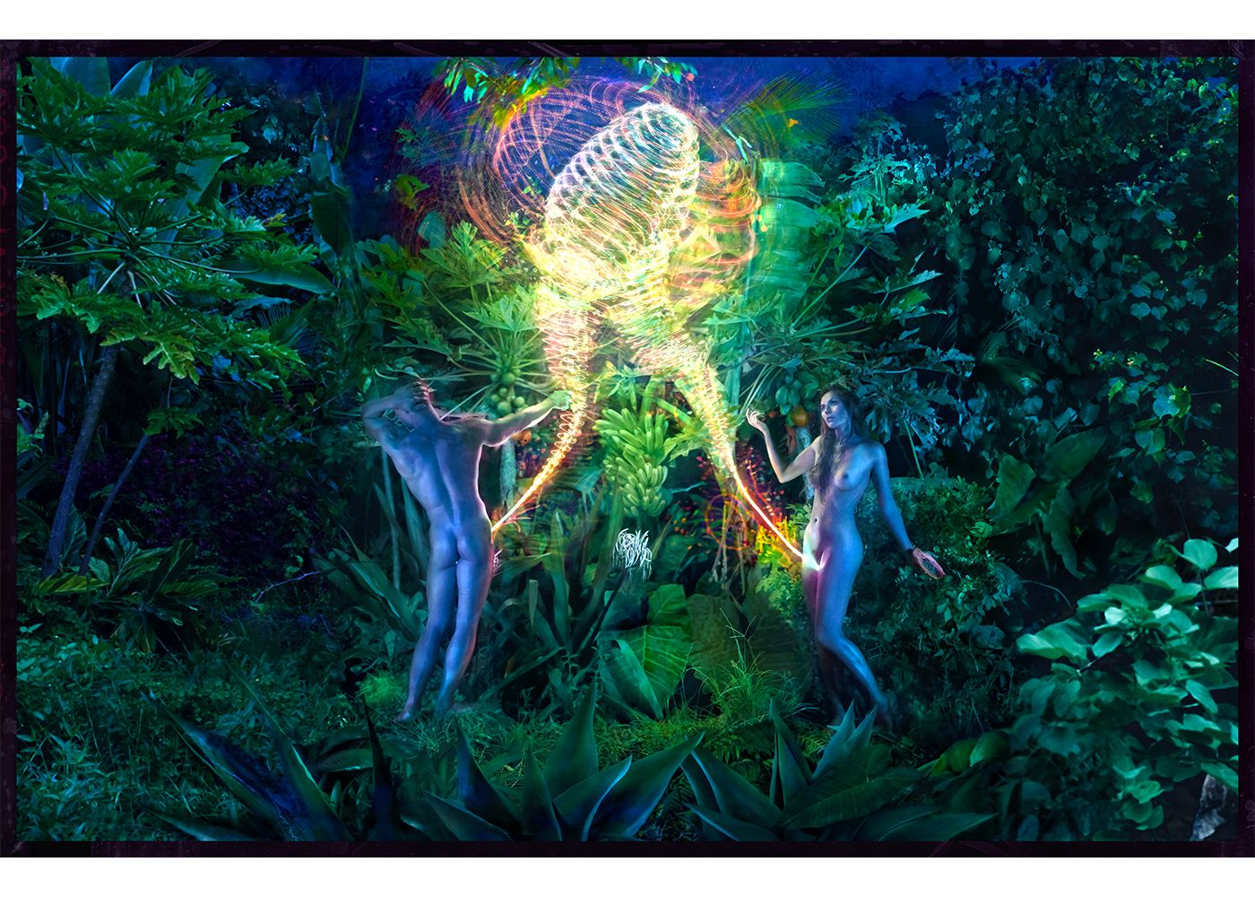 David LaChapelle Adam and Eve
